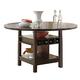 Intercon Furniture Hampton Gathering Dining Table in Dark Oak