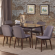 Hillsdale Furniture Allentown 7pc Dining Room Set in Cappuccino