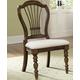Hillsdale Pine Island Wheat Back Side Chair in Dark Pine 4860-801 (Set of 2)