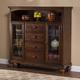 Hillsdale Pine Island 4 Drawer Baker's Cabinet in Dark Pine 4860-854