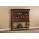 Hillsdale Pine Island Sideboard Cabinet in Dark Pine 4860-855