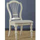 Hillsdale Pine Island Wheat Back Side Chair in Old White 5265-801 (Set of 2)