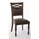 Hillsdale Seaton Springs Dining Chair in Weathered Walnut 5484-802 (Set of 2)