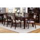 Hillsdale Furniture Denmark Leg Dining Table in Dark Espresso 5466-818