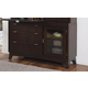 Hillsdale Furniture Denmark Buffet in Dark Espresso 5466-851
