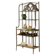 Hillsdale Furniture Marsala Baker's Rack in Gray/Brown 5435-850