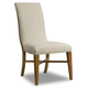 Hooker Furniture Retropolitan Upholstered Side Chair in Natural Cherry 5510-75510-MWD (Set of 2)