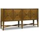 Hooker Furniture Retropolitan Buffet in Natural Cherry 5510-75900-MWD