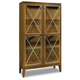 Hooker Furniture Retropolitan Display Cabinet in Natural Cherry 5510-75906-MWD