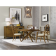 Hooker Furniture Retropolitan 5-Piece Round Dining Set in Natural Cherry