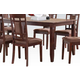 Acme Furniture Sonata Dining Table in Cherry 71160