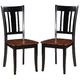 Acme Furniture Galan Side Chair in Black (Set of 2)