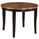 Acme Furniture Galan Dining Table in Black & Oak 71215