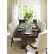 Lexington Laurel Canyon 11pcs Rectangular Dining Room Set in Rich Mocha