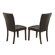 Crown Mark Micah Side Chair in Espresso (Set of 2) 1250S-ESP