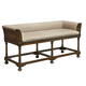 Fine Furniture Harbor Springs Linen Bench in Port 1370-502 CLOSEOUT