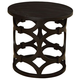 Armen Living Tuxedo Round End Table LCTULA