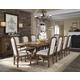 Pulaski Reddington 11pc Wood Rectangular Dining Set