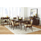 Pulaski Modern Harmony 7pc Rectangular Leg Dining Set