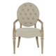 Bernhardt Antiquarian Arm Chair in Wheat 365-562 (Set of 2)