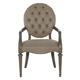 Bernhardt Antiquarian Arm Chair in Tobacco Leaf 365-562A (Set of 2)
