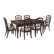 Leahlyn 7-Piece Rectangular Dining Set in Reddish Brown