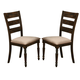 New Classic Annandale Dining Chair in Antique Tobacco D2560-20 (Set of 2)