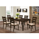 New Classic Annandale 7pc Dining Table in Antique Tobacco