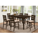 New Classic Annandale 7pc Counter Table in Antique Tobacco