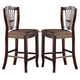 New Classic Bixby Counter Chair in Espresso D2541-22 (Set of 2)