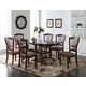 New Classic Bixby 7pc Dining Table Set in Espresso