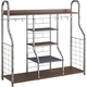 Metal Accent Large Organizer in Gray B087-042