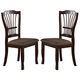 New Classic Bixby Dining Chair in Espresso D2541-20 (Set of 2)
