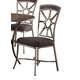 Hillsdale Furniture Chandler Dining Chair in Black Pewter (Set of 2)