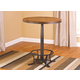 Hillsdale Furniture Westview Bistro Table in Dark Silver