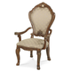 AICO Cortina Arm Chair in Honey Walnut N65004-28 (Set of 2)