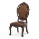 AICO Essex Manor Side Chair in Deep English Tea N76333-57 (Set of 2)