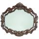 AICO Essex Manor Sideboard Mirror in Deep English Tea N76067-57