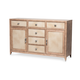 AICO Biscayne West Dining Buffet in Sand 80006-102