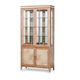AICO Biscayne West Dining Curio in Sand
