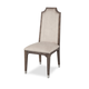 AICO Biscayne West Upholstered Side Chair in Haze (Set of 2)