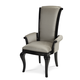 AICO Hollywood Swank Arm Chair in Graphite NU03004R-79 (Set of 2)