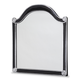AICO Hollywood Swank Sideboard Wall Mirror in Black NU03260-86