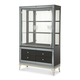 AICO Hollywood Swank Curio w/ Drawer Base in Caviar