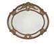 AICO Oppulente Sideboard Mirror in Sienna Spice 67067-52