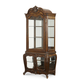 AICO Lavelle Melange Dining Curio in Warm Brown 54505-34