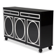 AICO Sky Tower Sideboard in Black Ice 9025607-805