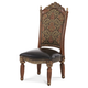 AICO Villa Valencia Side Chair in Classic Chestnut 72003-55 (Set of 2)
