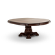 AICO Villagio Round Dining Table in Hazelnut
