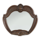 AICO Windsor Court Sideboard Mirror in Vintage Fruitwood 70067-54